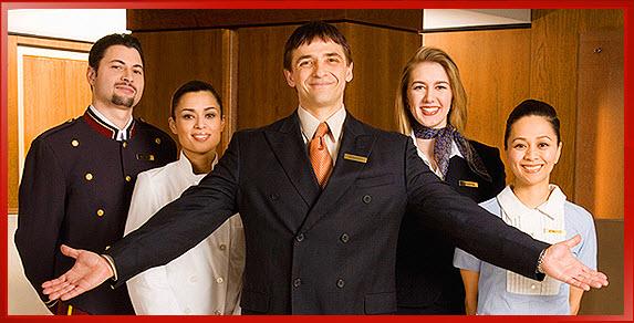 Image result for hotel staff